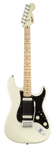 GUITARRA FENDER SQUIER CONTEMPORARY STRATOCASTER HH MN - 037-0222-523 - PEARL WHITE