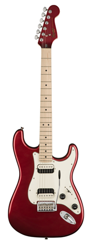 GUITARRA FENDER SQUIER CONTEMPORARY STRATOCASTER HH MN - 037-0222-525 - DARK METALLIC RED
