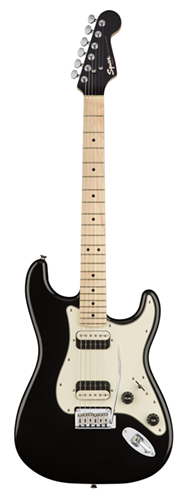 GUITARRA FENDER SQUIER CONTEMPORARY STRATOCASTER HH MN - 037-0222-565 - BLACK METALLIC