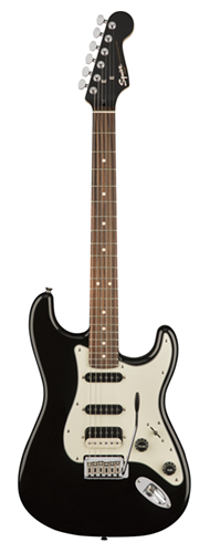 GUITARRA FENDER SQUIER CONTEMPORARY STRATOCASTER HSS LR - 037-0322-565 - BLACK METALLIC
