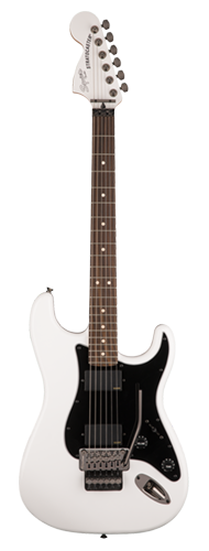 GUITARRA FENDER SQUIER CONTEMPORARY STRATOCASTER FLOYD ROSE HH LR - 037-0327-505 - OLYMPIC WHITE