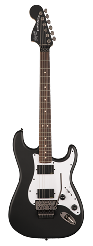 GUITARRA FENDER SQUIER CONTEMPORARY STRATOCASTER FLOYD ROSE HH LR - 037-0327-510 - FLAT BLACK