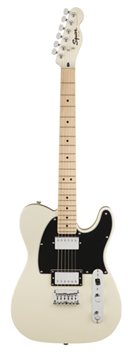 GUITARRA FENDER SQUIER CONTEMPORARY TELECASTER HH MN - 037-1222-523 - PEARL WHITE