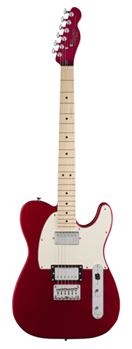 GUITARRA FENDER SQUIER CONTEMPORARY TELECASTER HH MN - 037-1222-525 - DARK METALLIC RED
