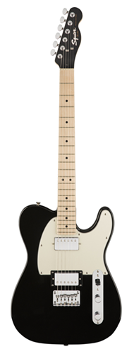 GUITARRA FENDER SQUIER CONTEMPORARY TELECASTER HH MN - 037-1222-565 - BLACK METALLIC