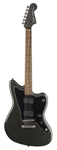 GUITARRA FENDER SQUIER CONTEMPORARY JAZZMASTER HH ST LR - 037-0330-569 - GRAPHITE METALLIC