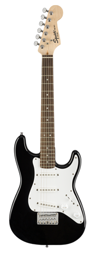 GUITARRA FENDER SQUIER MINI STRAT LR - 037-0121-506 - BLACK