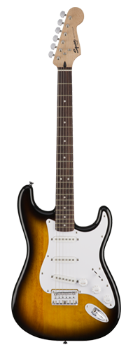 GUITARRA FENDER SQUIER BULLET STRAT HT LR - 037-1001-532 - BROWN SUNBURST