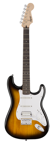 GUITARRA FENDER SQUIER BULLET STRAT HT HSS LR - 037-1005-532 - BROWN SUNBURST