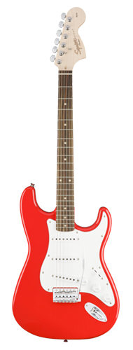GUITARRA FENDER SQUIER AFFINITY STRAT LR - 037-0600-570 - RACING RED