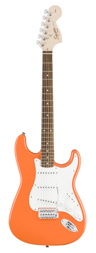 GUITARRA FENDER SQUIER AFFINITY STRAT LR - 037-0600-596 - COMPETITION ORANGE