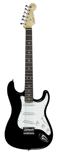 GUITARRA FENDER SQUIER MAINSTREAM STRAT MM HT - 037-0910-506 - BLACK