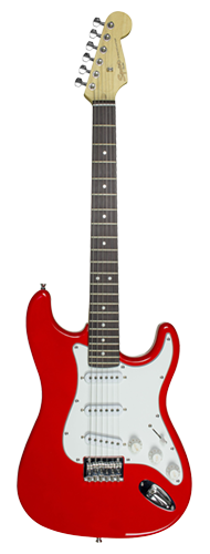GUITARRA FENDER SQUIER MAINSTREAM STRAT MM HT - 037-0910-558 - RED