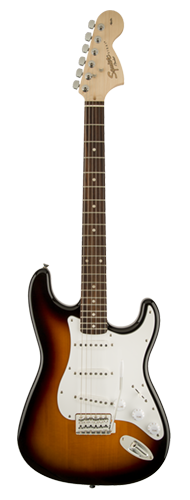 GUITARRA FENDER SQUIER AFFINITY STRAT LR - 037-0600-532 - BROWN SUNBURST
