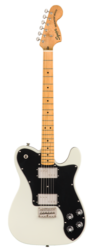 GUITARRA FENDER SQUIER CLASSIC VIBE 70S TELECASTER DELUXE MN - 037-4060-505 - OLYMPIC WHITE