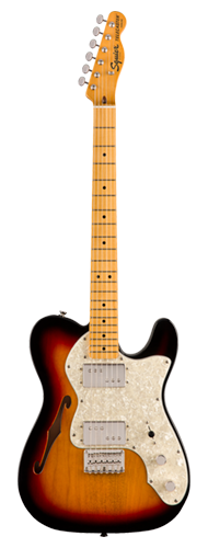 GUITARRA FENDER SQUIER CLASSIC VIBE 70S TELECASTER THINLINE MN - 037-4070-500 - 3-COLOR SUNBURST