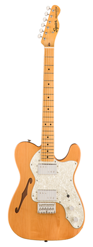GUITARRA FENDER SQUIER CLASSIC VIBE 70S TELECASTER THINLINE MN - 037-4070-521 - NATURAL