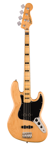 CONTRABAIXO FENDER SQUIER CLASSIC VIBE 70S JAZZ BASS MN - 037-4540-521 - NATURAL