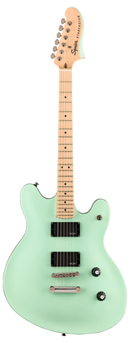 GUITARRA FENDER SQUIER CONTEMPORARY ACTIVE STARCASTER MN - 037-0470-549 - SURF PEARL