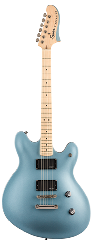 GUITARRA FENDER SQUIER CONTEMPORARY ACTIVE STARCASTER MN - 037-0470-583 - ICE BLUE METALLIC