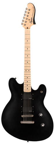 GUITARRA FENDER SQUIER CONTEMPORARY ACTIVE STARCASTER MN - 037-0470-510 - FLAT BLACK