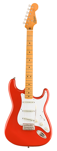 GUITARRA FENDER SQUIER CLASSIC VIBE 50S STRATOCASTER MN - 037-4005-540 - FIESTA RED