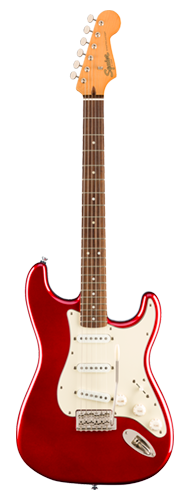 GUITARRA FENDER SQUIER CLASSIC VIBE 60S STRATOCASTER LR - 037-4010-509 - CANDY APPLE RED