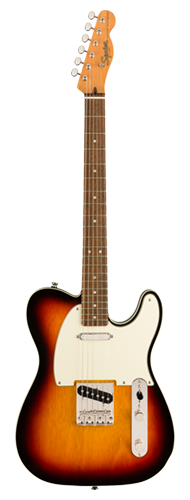 GUITARRA FENDER SQUIER CLASSIC VIBE 60S TELECASTER CUSTOM LR - 037-4040-500 - 3-COLOR SUNBURST