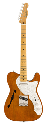 GUITARRA FENDER SQUIER CLASSIC VIBE 60S TELECASTER THINLINE MN - 037-4067-521 - NATURAL