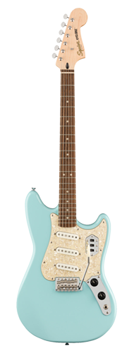 GUITARRA FENDER SQUIER PARANORMAL CYCLONE LR 037-7010-502 DAPHNE BLUE