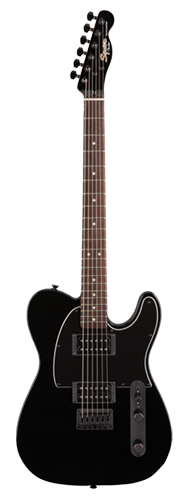 GUITARRA FENDER SQUIER AFFINITY TELE HH FSR LTD EDIT LR - 037-0202-565 - METALLIC BLACK