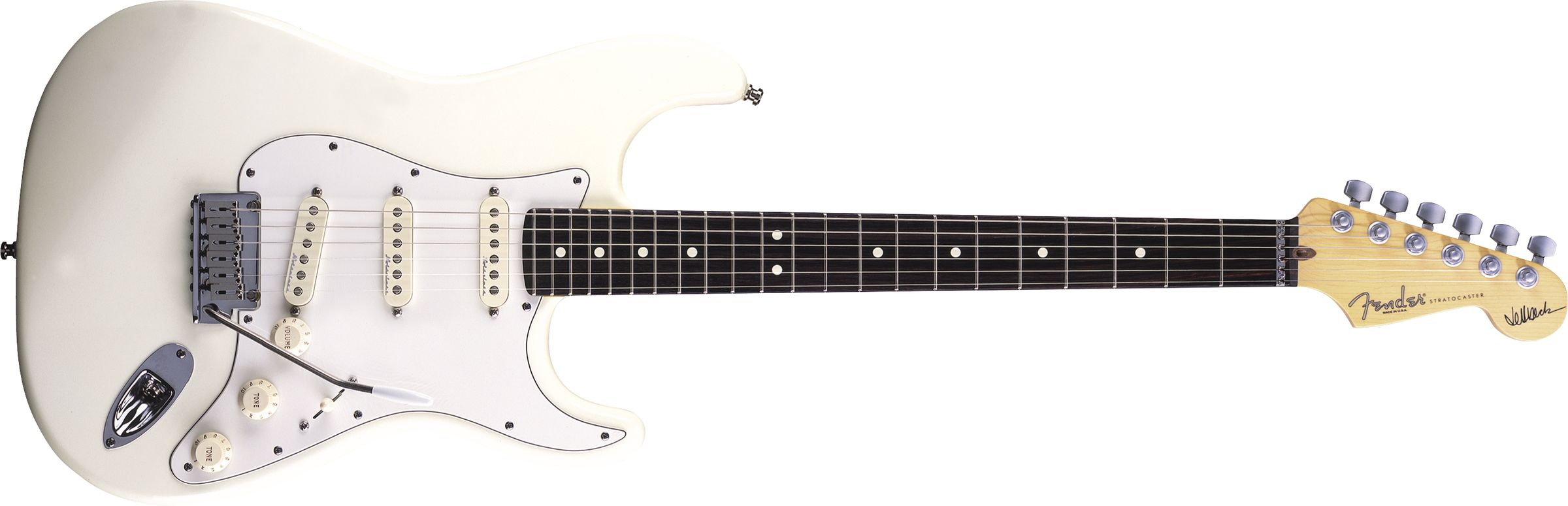 GUITARRA FENDER SIG SERIES JEFF BECK 011-9600-805 OLYMPIC WHITE