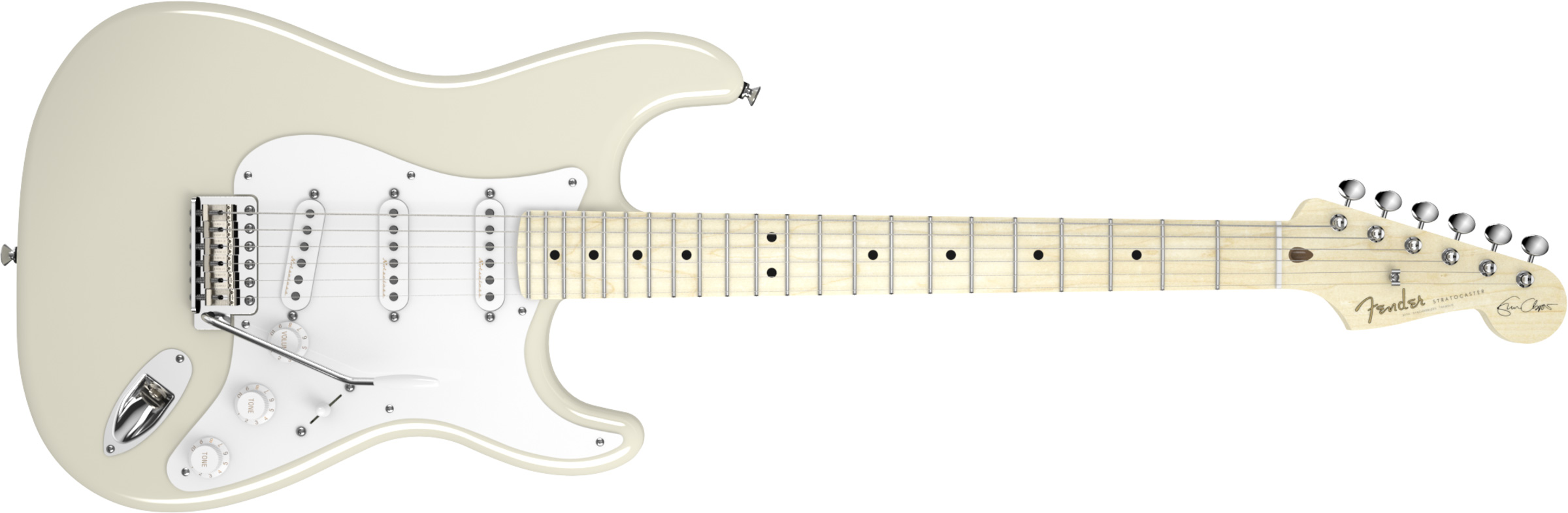 GUITARRA FENDER SIG SERIES ERIC CLAPTON 011-7602-805 OLYMPIC WHITE