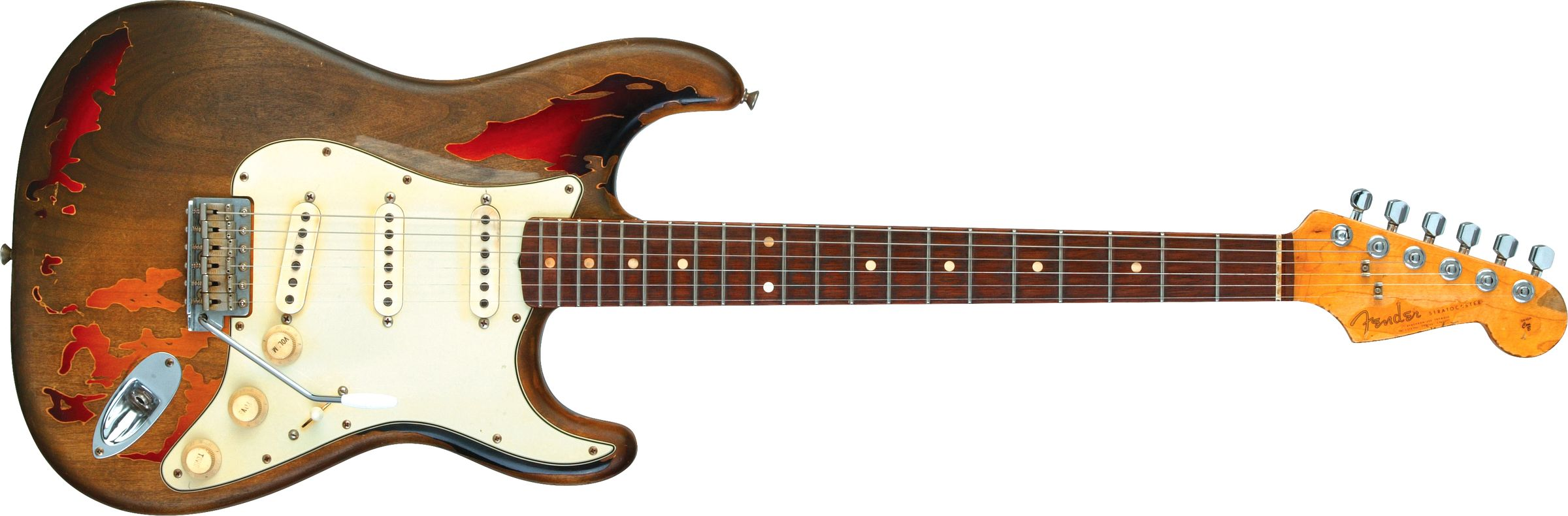 GUITARRA FENDER SIG SERIES RORY GALLAGHER STRATOCASTER 015-0080-800 3-COLOR SUNBURST