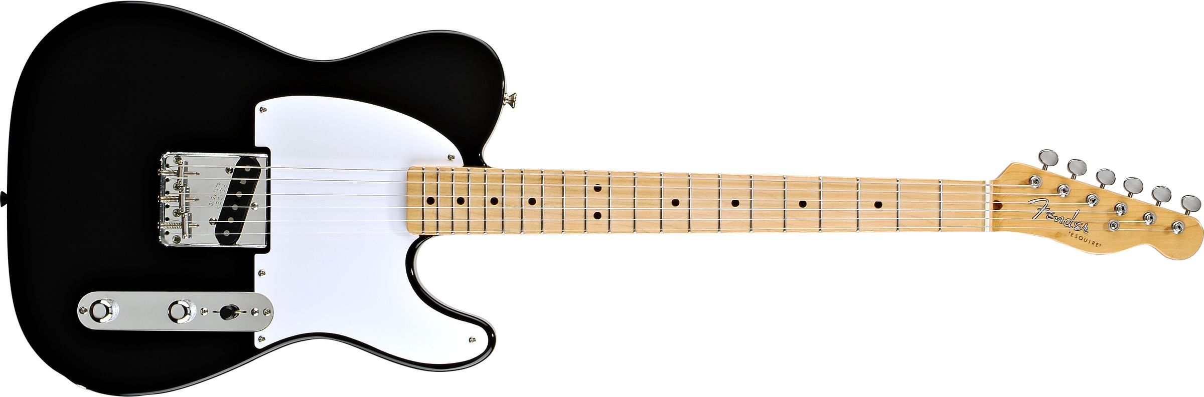 GUITARRA FENDER 013 1502 - 50 ESQUIRE - 306 - BLACK