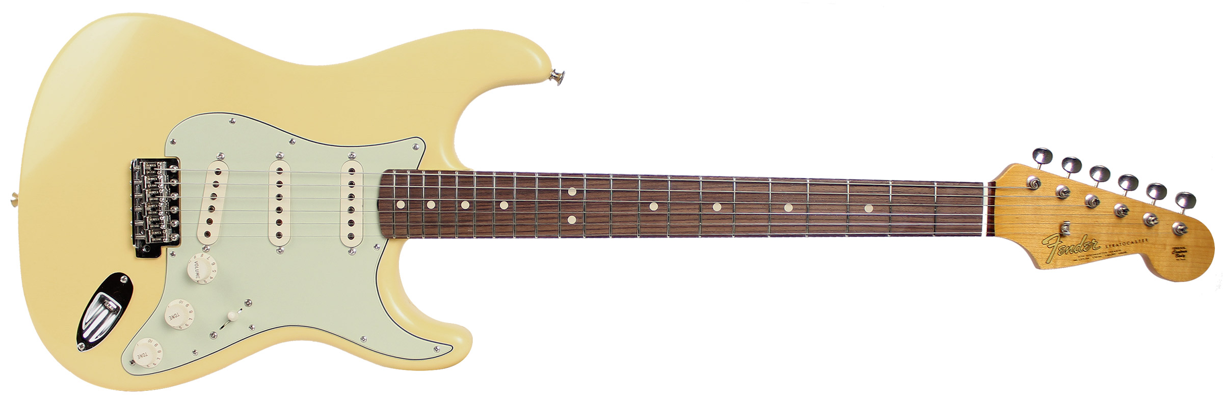 GUITARRA FENDER 64 STRATOCASTER ANNIVERSARY CLOSET CLASSIC 151-9640-895 AGED VINTAGE WHITE