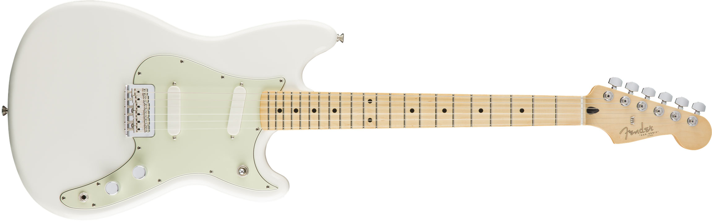 GUITARRA FENDER 014 4012 - OFFSET DUO-SONIC MN - 580 - ARCTIC WHITE