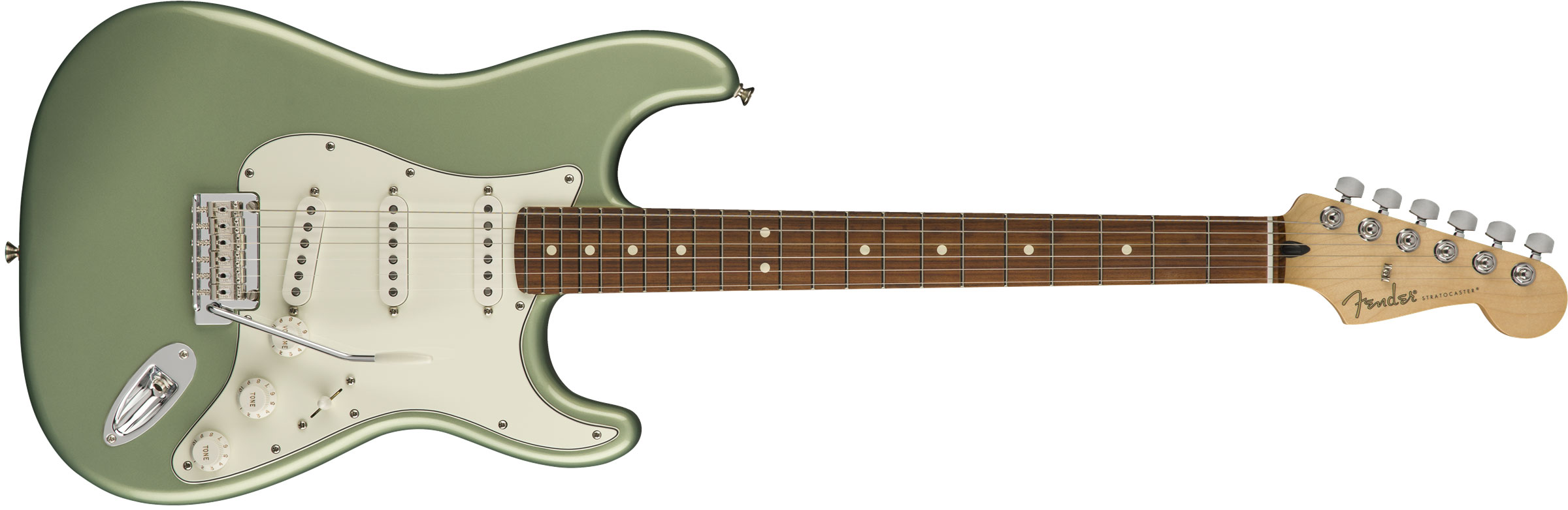 GUITARRA FENDER 014 4503 - PLAYER STRATOCASTER PF - 519 - SAGE GREEN METALLIC