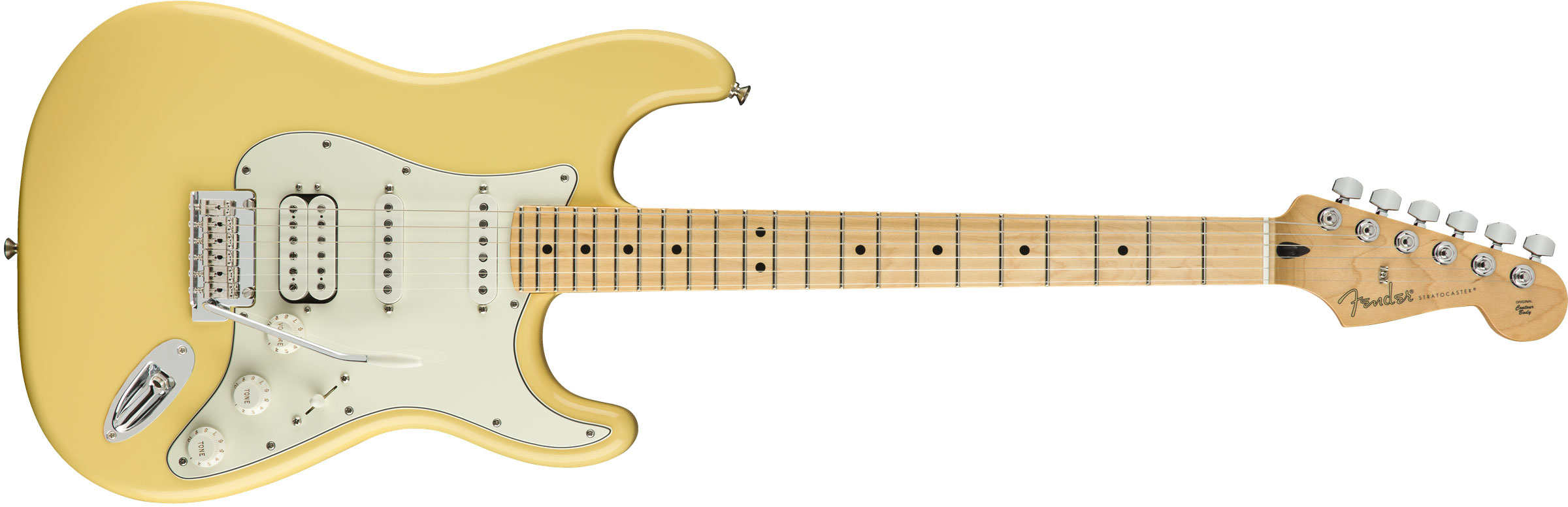 GUITARRA FENDER PLAYER STRATOCASTER HSS MN 014-4522-534 BUTTERCREAM