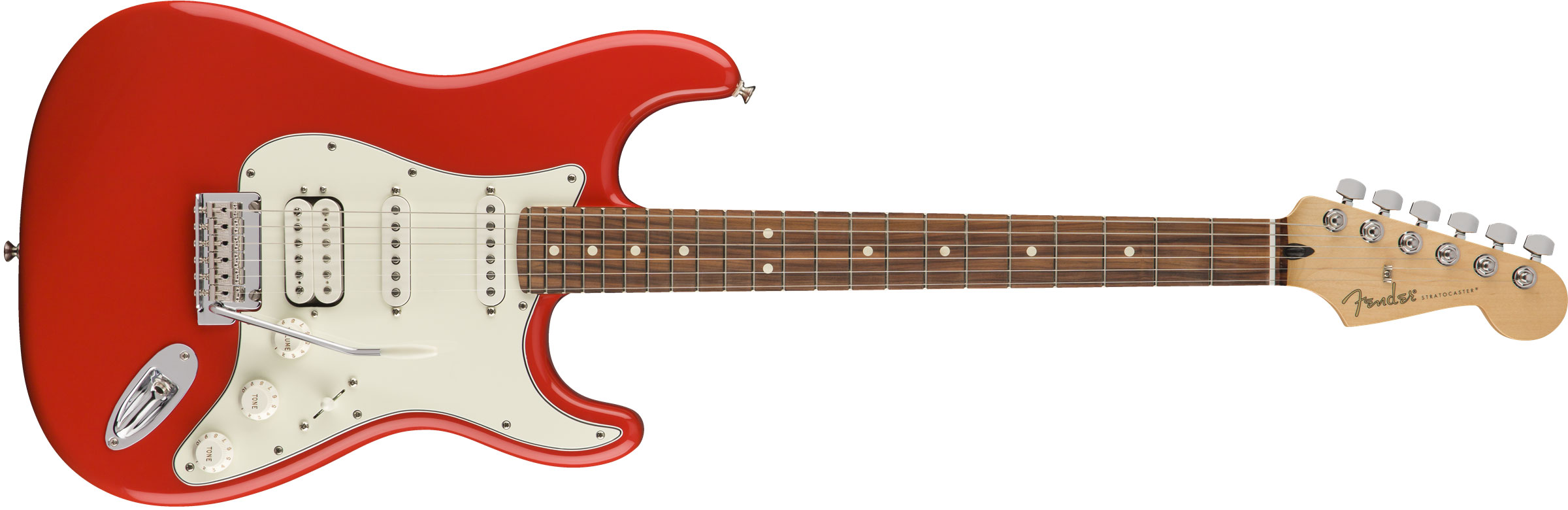 GUITARRA FENDER 014 4523 - PLAYER STRATOCASTER HSS PF - 525 - SONIC RED