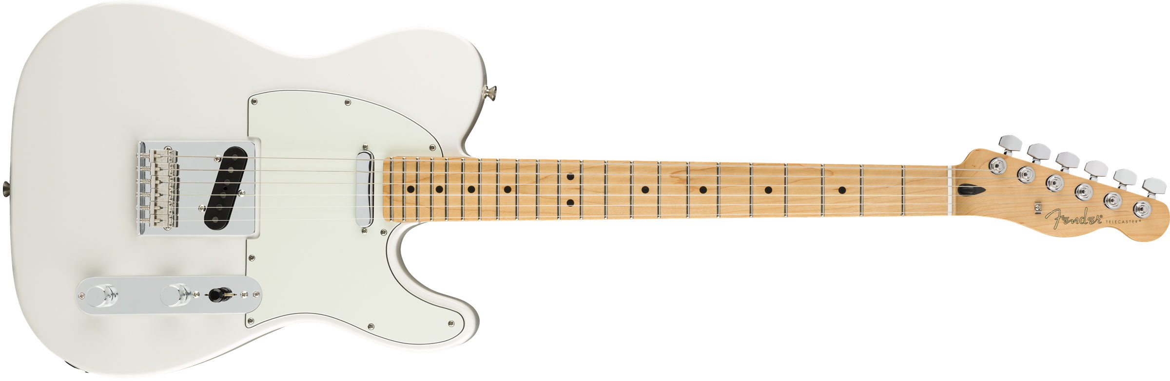 GUITARRA FENDER PLAYER TELECASTER MN 014-5212-515 POLAR WHITE