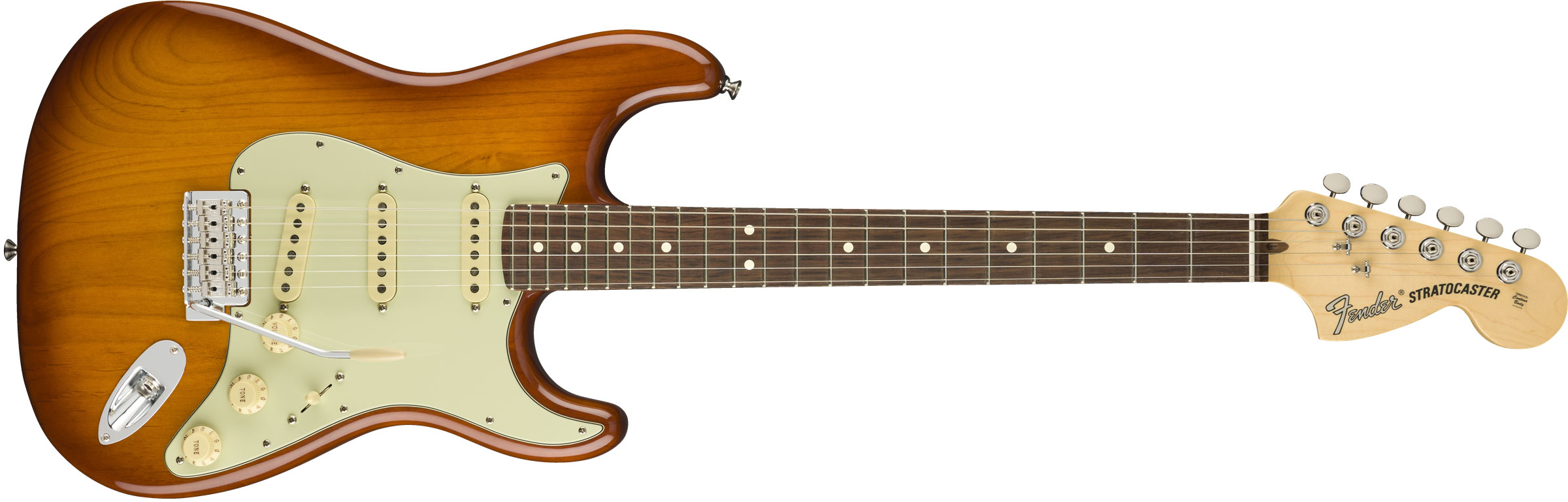 GUITARRA FENDER AM PERFORMER STRATOCASTER RW 011-4910-342 HONEY BURST