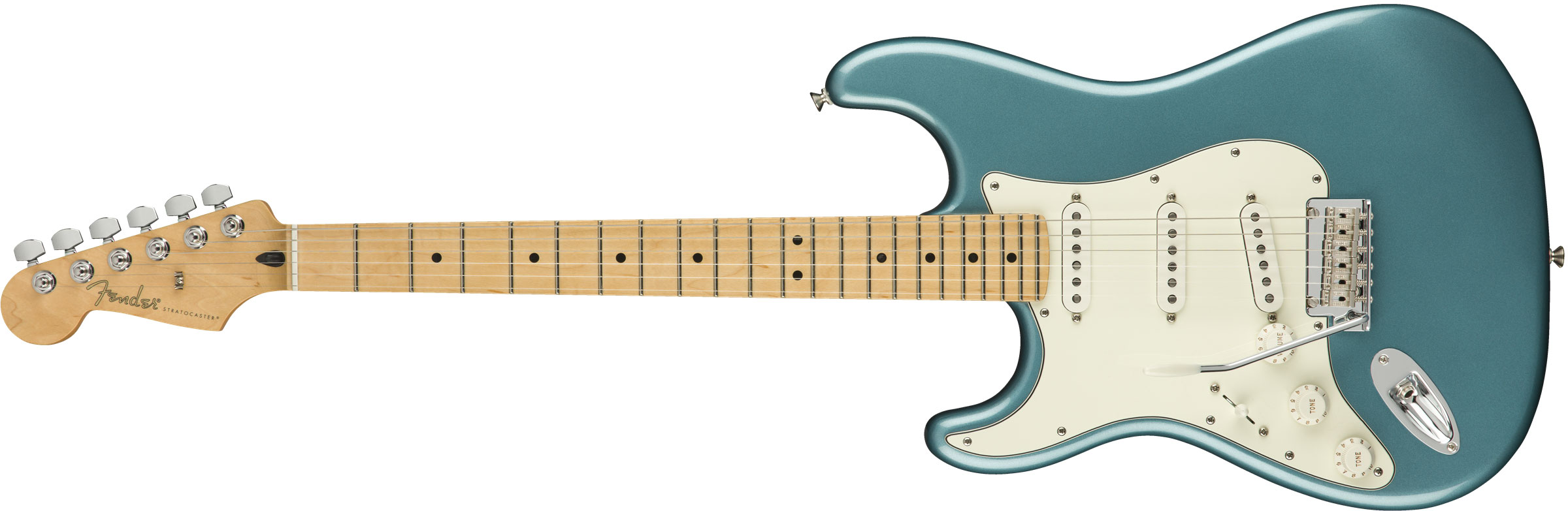 GUITARRA FENDER PLAYER STRATOCASTER LH MN 014-4512-513 TIDEPOOL
