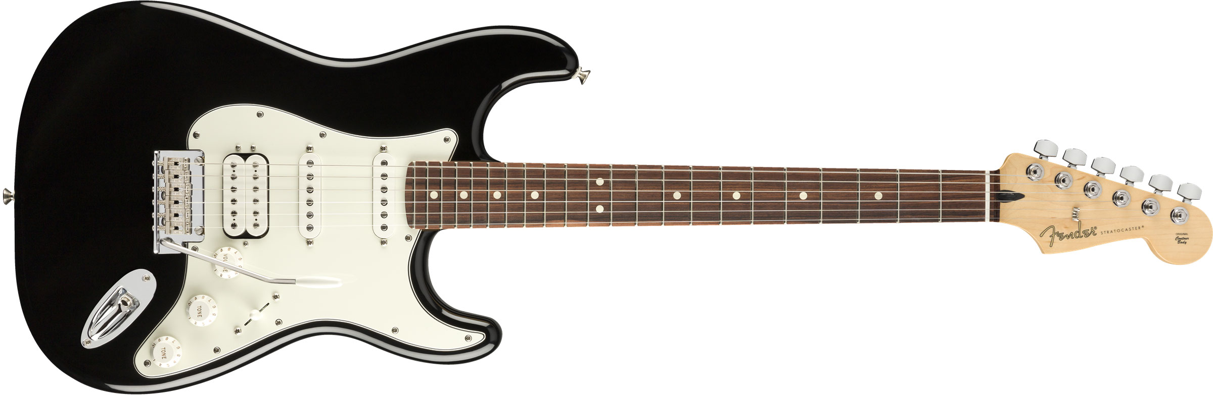 GUITARRA FENDER PLAYER STRATOCASTER HSS PF 014-4523-506 BLACK