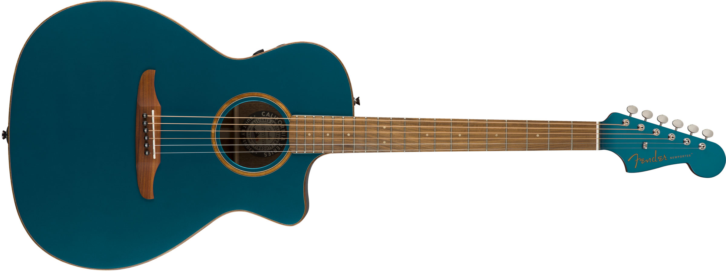 VIOL�O FENDER NEWPORTER CLASSIC W/ DELUXE GIG BAG 097-0943-299 COSMIC TURQUOISE