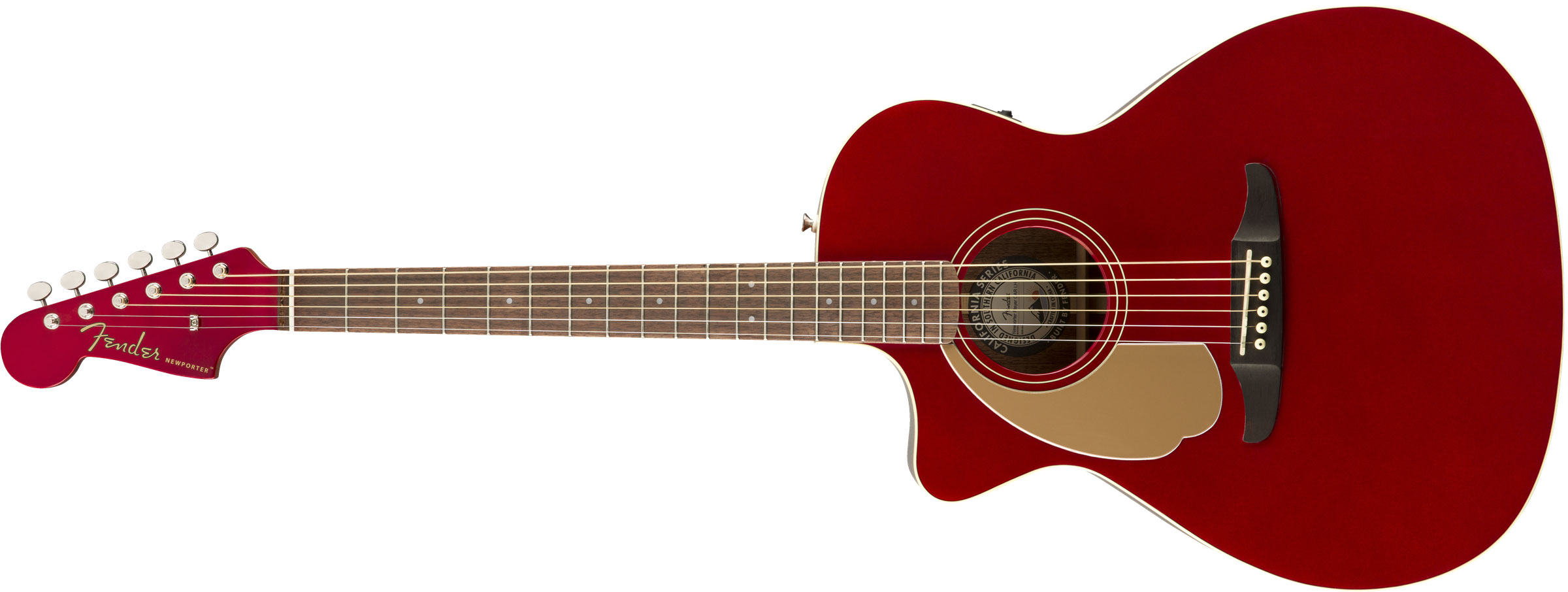 VIOL�O FENDER NEWPORTER PLAYER LH 097-0748-009 CANDY APPLE RED