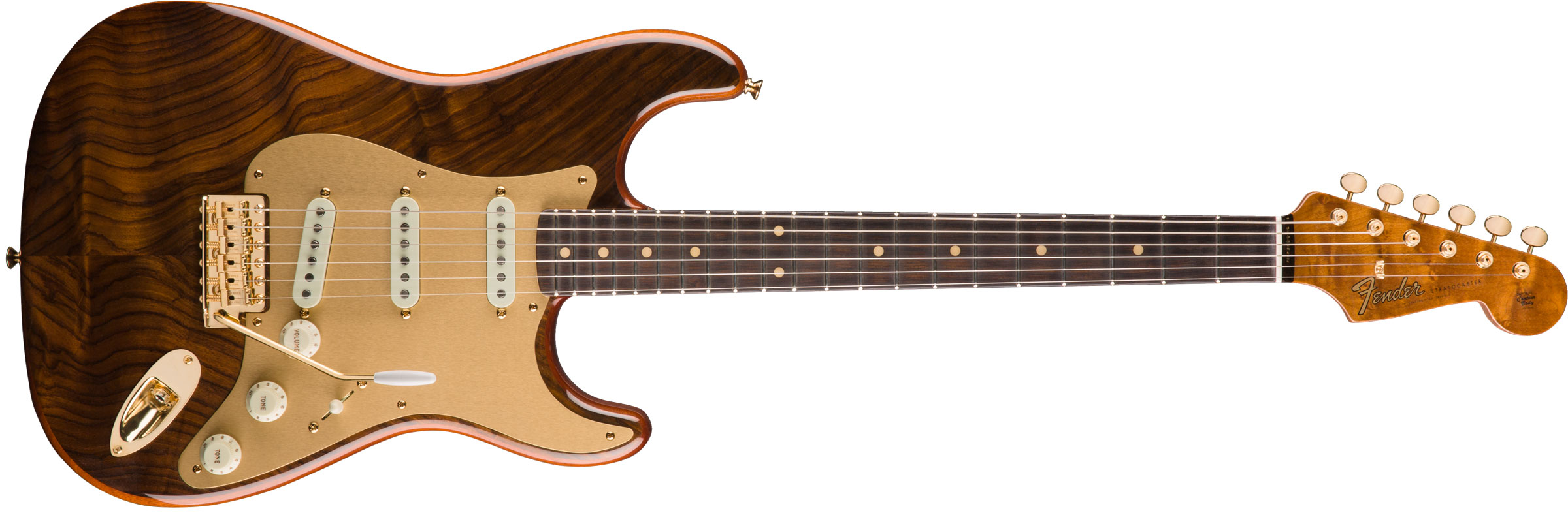 GUITARRA FENDER STRATOCASTER CUSTOM ARTISAN FIGURED ROSEWOOD LTD EDITION 152-1090-821 NATURAL