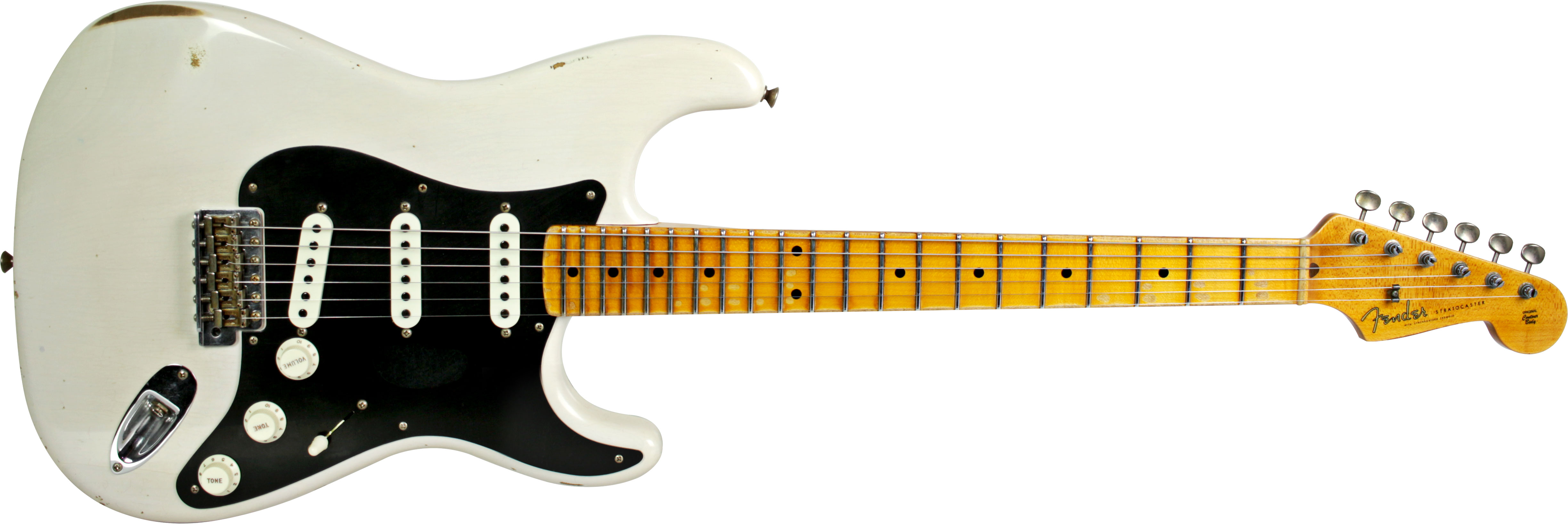 GUITARRA FENDER 155 8902 - STRATOCASTER ANCHO POBLANO JOURNEYMAN RELIC LTD EDITION - 801 - WH BLOND
