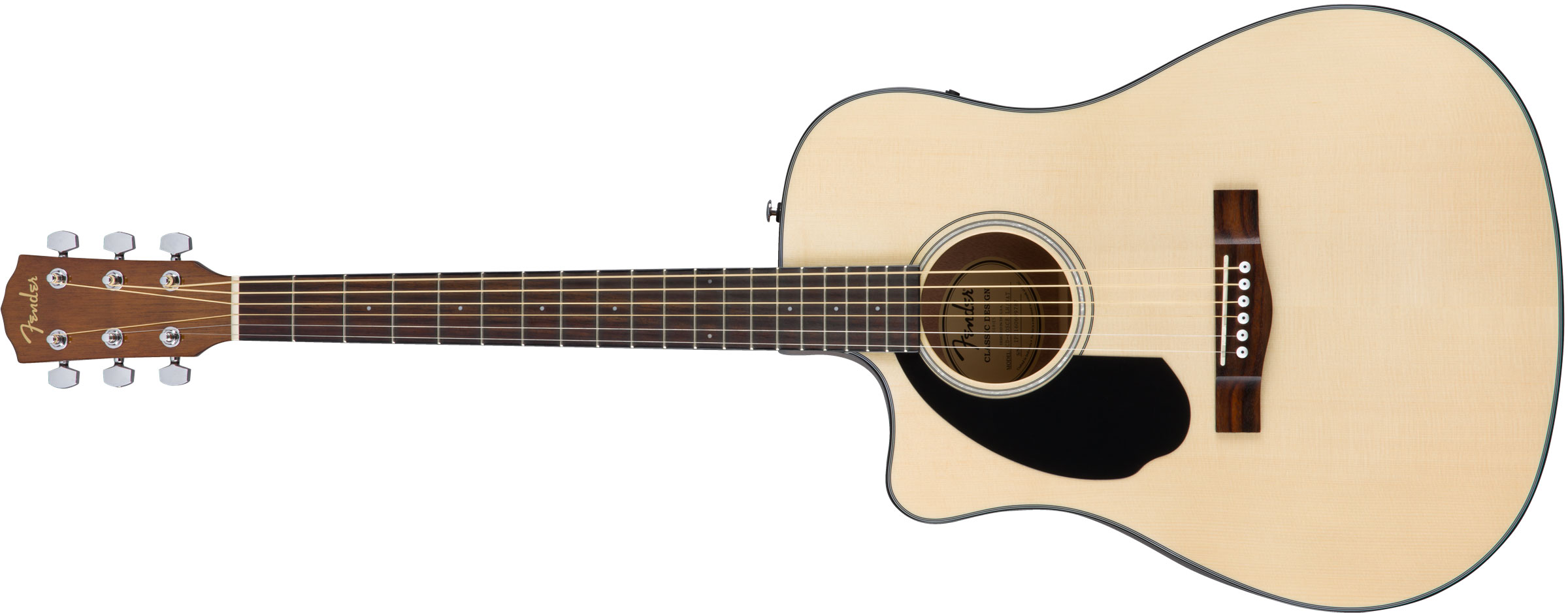 VIOL�O FENDER DREADNOUGHT CD-60 SCE LH 097-0118-021 NATURAL