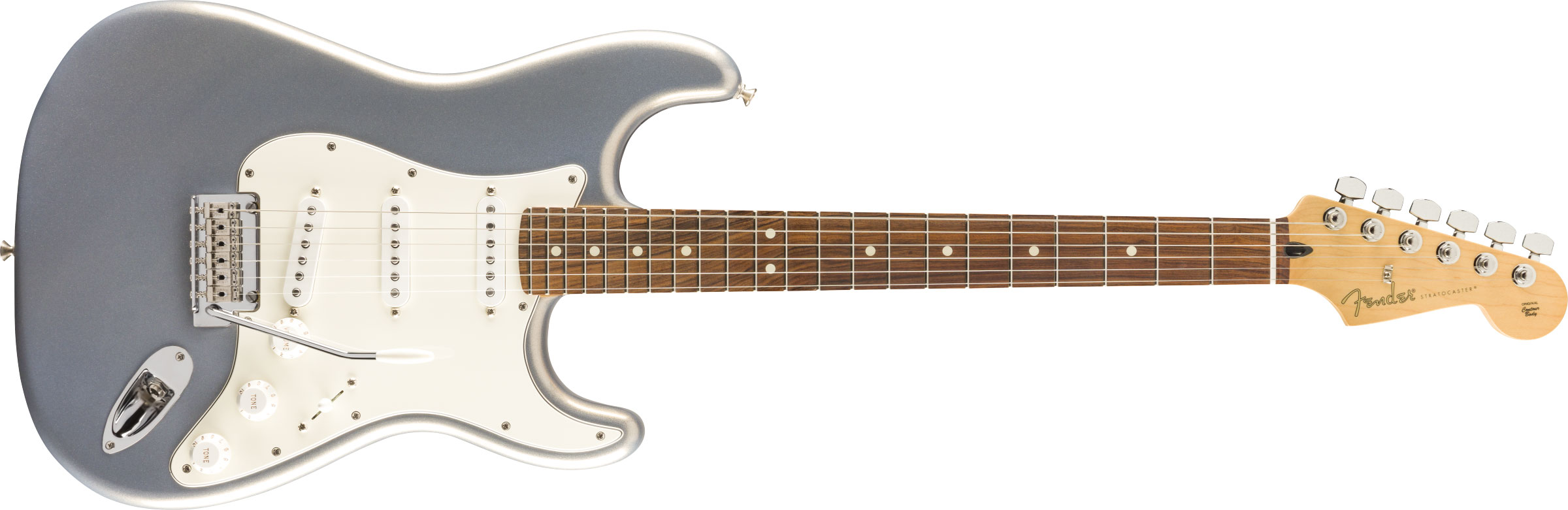 GUITARRA FENDER PLAYER STRATOCASTER PF 014-4503-581 SILVER